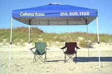 Beach Rental - CHAIRS & CANOPIES